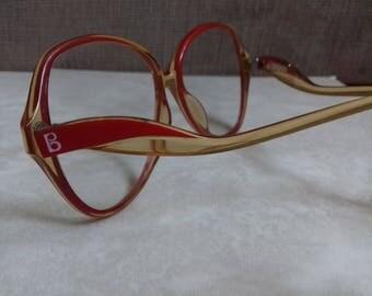 Vintage Optyl- Elegance( Terri Brogan) Woman Hipster frame Eyewear, Vintage Unusual Eyeglasses