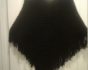 Woman's poncho size small to large