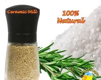Spanish Rosemary Gourmet Salt Grinder 100 Grams (3.5oz)