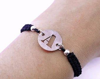 Custom Bracelet with Initial.
