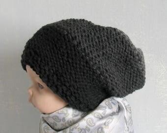 Toddler Slouch Hat  Girls Slouchy Beanie Slouch Beanie Boys Kids Children Toddler Knit Hat Slouchy Seanie Slouchy Hat Knit Toddler Hat