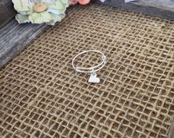 Little Heart Charm Ring