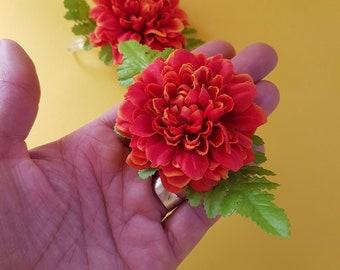 Mali hair flower clip