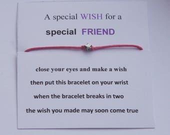 Special Friend friendship bracelet
