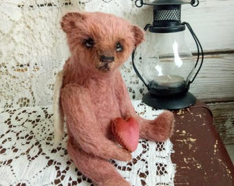 Artist teddy bear Teddy bear Angel Teddy toy TeddyToy bear Mohair bear Bear handmade Bear angel Collection bear OOAK teddy Bear Interior toy