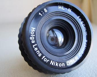 Holga Lens HL-N for Nikon Dslr SLR Film Camera