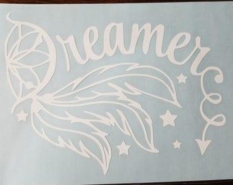Dreamer - Dream Catcher Vinyl Decal