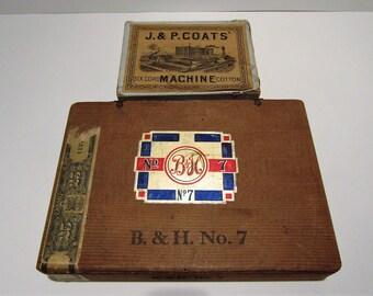 Antique/Vintage(?) Boxes