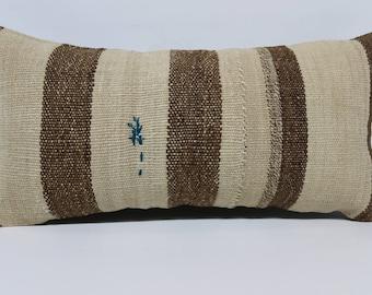 12x24  sofa pillow throw pillow 12x24 cushion cover boho decor striped kilim pillow home decor cushion cover handwoven  pillow  SP3060-1553