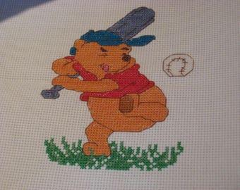 Baseball Player Pooh