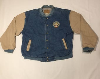 Clinton Gore Inauguration denim jacket 1997 jean coat