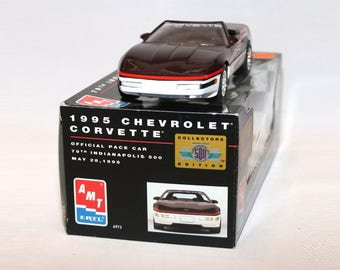 1995 Chevrolet Corvette Dealer Special Edition Promotional Model Car Indianapolis 500 Pace Car