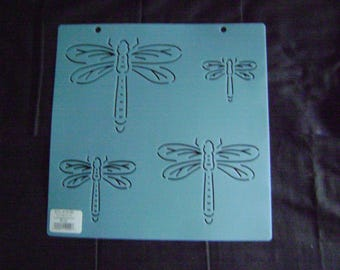 Sashiko Japanese Embroidery Stencil Dragonfly Block/Quilting
