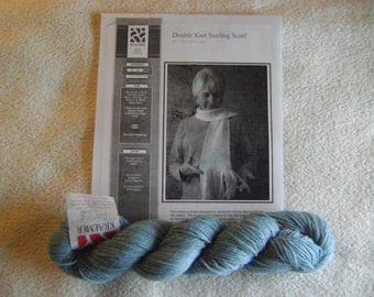 Sterling Silk and Silver Double Knit Sterling Scarf Kit