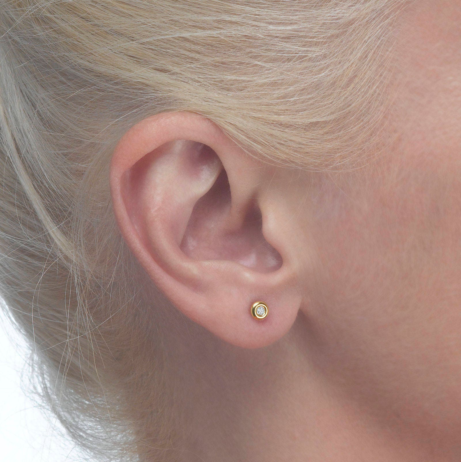 leaf by fern com earrings original delicate lisaangeljewellery notonthehighstreet product lisa angel stud