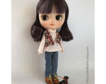 Custom Blythe Dolls For Sale by OOAK Custom Middie Blythe doll fake - Margherita