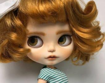 OOAK Custom Blythe Doll fake – Coral