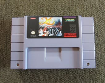 Ys IV Super Nintendo SNES