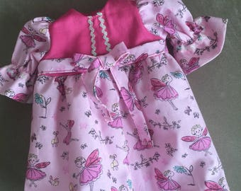 Long Dress For Bitty Baby With American Girl