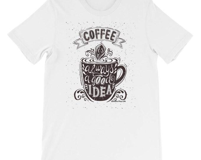 Bella + Canvas Coffee Short-Sleeve Unisex T-Shirt