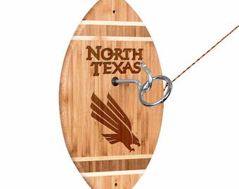 North Texas Mean Green Tiki Toss