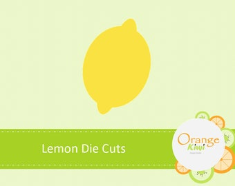 Lemon Die Cuts, Lemonade Stand Confetti, Lemon Birthday Party Decor, Baby Shower
