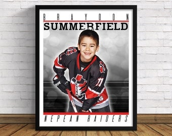 """Your Own Custom Sports Poster 