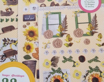 A very nice illustrations block die cut scrapbooking 3 D
