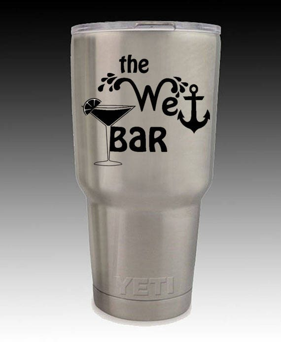 30 oz stainless RTIC or YETI custom cup engraved