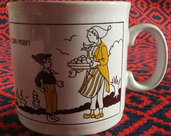 Staffordshire Kiln Craft Nursery Rhyme Cup;  Simple Simon Design