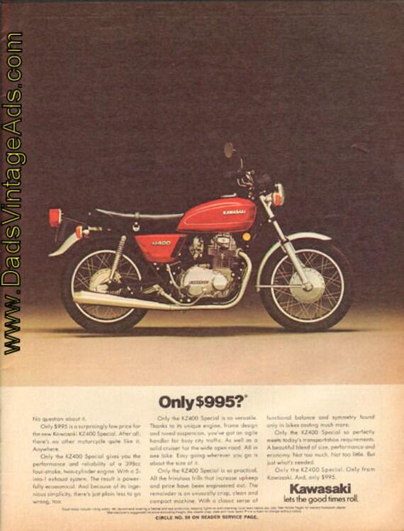 1976 Kawasaki KZ400 Special - Only 995.00? Ad #e76fa03