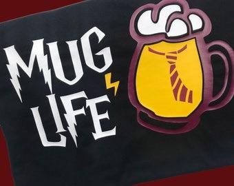 Harry Potter Shirts For Women, Funny Harry Potter Shirt, Muggle, HP, Potterhead Mug Life, Men's, Matching Harry Potter, butter beer,