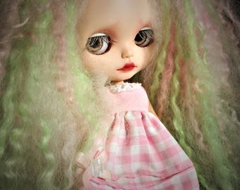 Peppermint Twist Reroot for Blythe and Icy Dolls