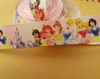 Ribbon grosgrain Princess 22mm