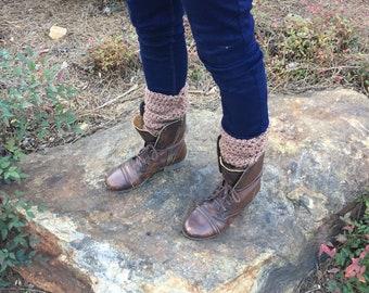 Light Brown Leg Warmers