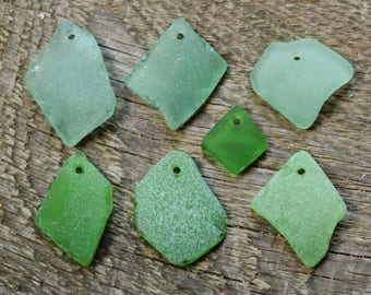 Genuine sea glass pendant supplies handmade tags seaglass tags sea glass tags drilled sea glass pendant for men pendant for women gift women