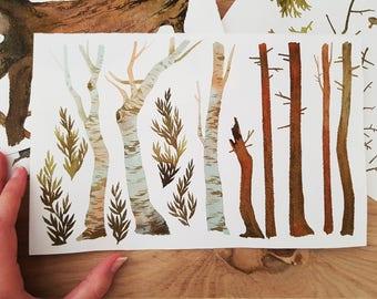 Original painting - Trees