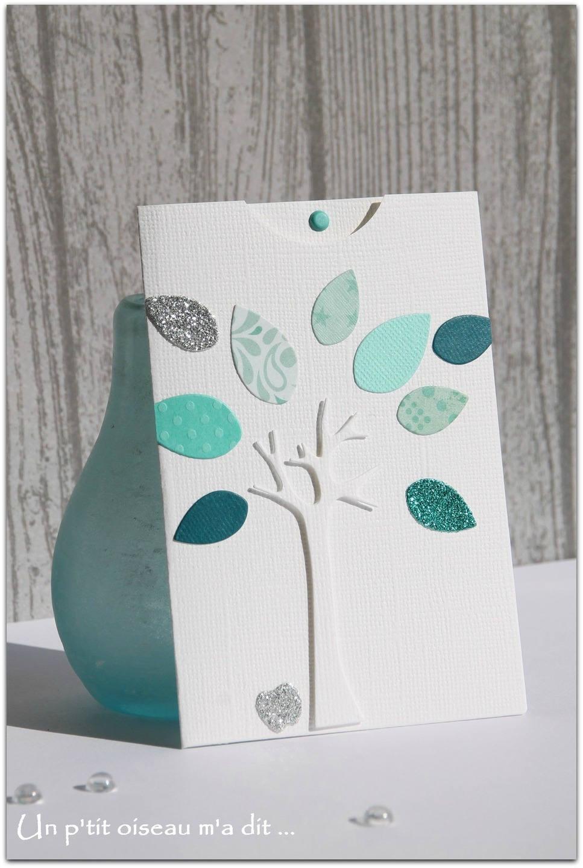 faire part de naissance pochette arbre. Black Bedroom Furniture Sets. Home Design Ideas