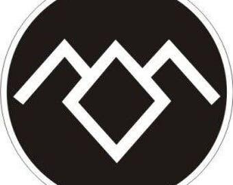 Twin Peaks Owl Cave Black Lodge Perler Bead Sprite Pattern - Pixel