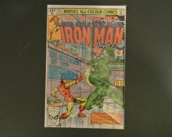 Iron Man #135 1980 Bronze Age Marvel Comics