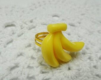 Kawaii Banana Ring