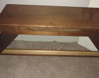 Vintage Allen Maple dog footed  Organ Bench
