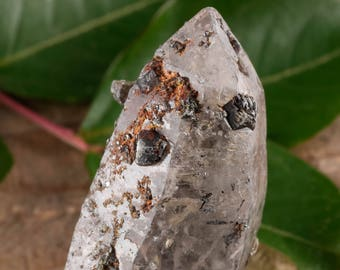 One XL WITCHES FINGER Raw Quartz Crystal - Raw Quartz Point, Healing Crystal, Healing Stone, Meditation Crystal, Rocks and Gems E0483