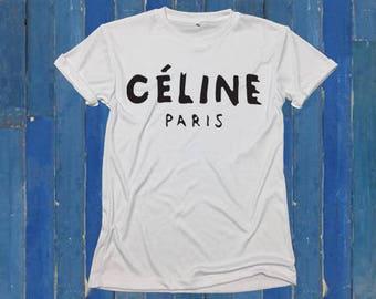 Céline Paris t-shirt, tee, t-shirt, women t-shirt