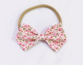 Garden party bow headband