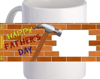 Technical Father Coffee Mug Lovely Gift To Father With Custom Photo