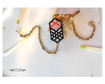 15% off Limited Time Tartan Bracelet, Delica Bead Bracelet, Seed Bead Bracelet, Miyuki Bracelet, Gold Bracelet, Silver Bracelet, Geometric