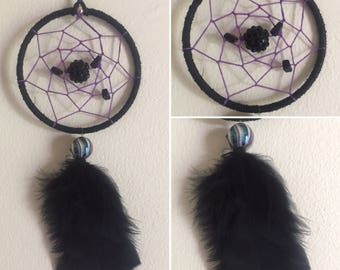 "3"" Midnight Dreamcatcher"