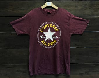 1990s/90s Converse Chuck Taylor All Star Tee
