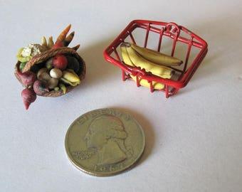 Miniature Food, Miniature Fruit and Veggies